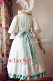 Surface Spell Romantic White Vintage Lolita OP Dress
