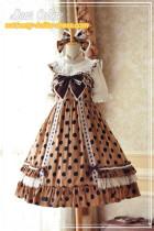 Dear Celine ~Polka Dotts Dance~Summer Lolita Dress-Ready made