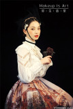 The Count~ Gothic Vintage Court Style Lolita Long Sleeves Blouse for Man/Woman