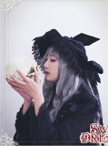 Cutie Creator ~ Witch's House~  Velvet Bow Lolita Witch Hat