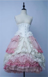 Magic Lolita Petticoat Underskirt Multiple Wear Ways -Ready MADE