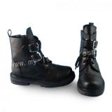 Elegant Black Flats Lolita Boots