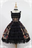 Magic Night Museum ~Lolita JSK Dress with Front Open Design