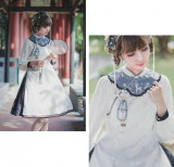 Hole Fairy Guide~ Qi Lolita OP Dress -Ready Made