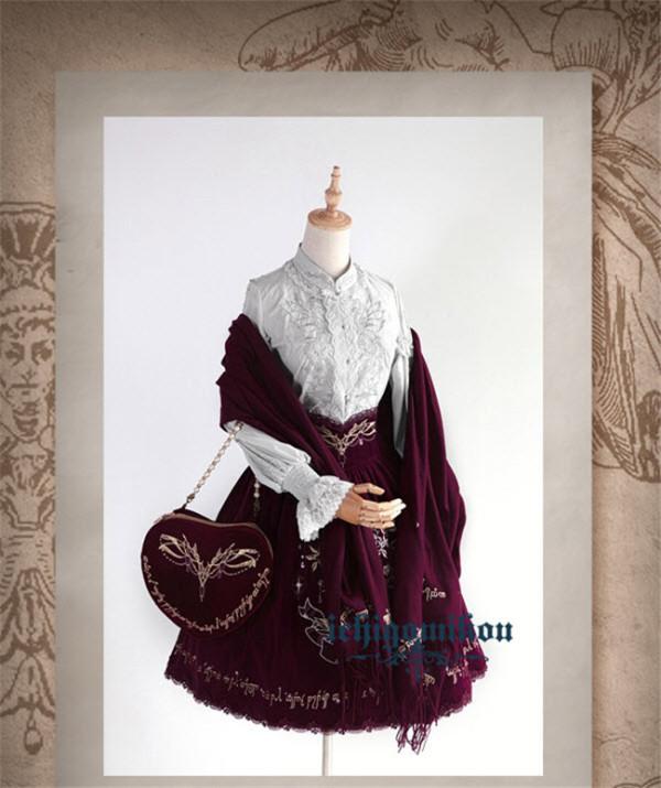 The Splendor of Gold&Siliver Tree ~Lolita Accessories -Pre-order