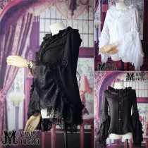 Elegant Lolita Hime Sleeves Blouse Autumn and Winter Version -Ready Made
