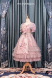 Roman Rose ~ Vintage Rose Embroidery Lolita OP -Ready Made