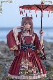 CEL Lolita ~Kaiseki Island Lolita JSK Slight High Waist -Ready Made