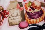 British Afternoon Tea -Sweet Pink Lolita Princess Skirt