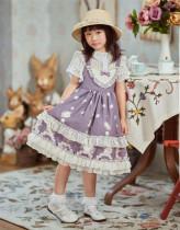 Starwish Lolita ~Small Seashells Sweet Lolita Jumper for Kids -Ready made