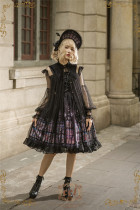 The Holy Cross~Sharp Collar Lolita Surface Layer Dress -Ready Made