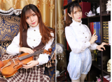 Vingtage Stand Collar Long Sleeves Lolita Chiffon Blouse - 4 Colors Available