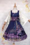 IchigoMiko ~Night Sakura Krathong~ Lolita JSK Dress Version I- Pre-order
