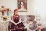 Magic Music School~ College Style Bass Embroidery Lolita JSK Dress
