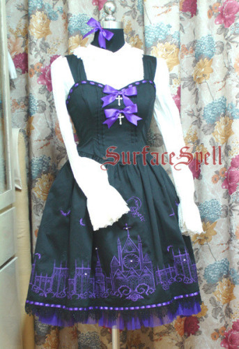 Surface Spell Cathedral Gothic Embroidery Lolita JSK