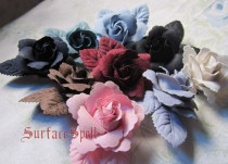 Single Rose Flower Lolita Hairpin
