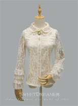 Flower Traver~ Elagant Lace Lolita Blouse