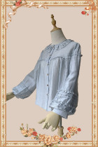 Infanta ~The Picnic Babydoll Style Lolita Blouse -Ready Made