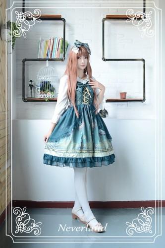 Neverland Lolita Arabian Nights Lolita JSK with Surface Layer Skirt