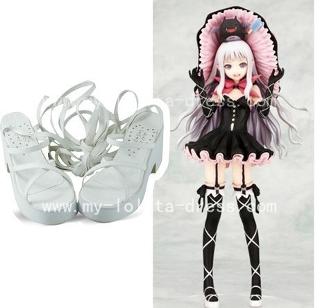 Beautiful Grey Shining Heart Melty Sandals
