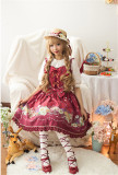 Daisy and Dandelion ~Sweet Lolita Jumper Dress Version I