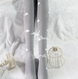 Yidhra -Cloud City- Gold-stamping Stars Lolita Tights