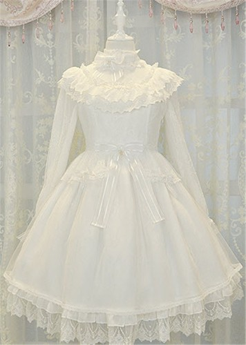 Fairy Tale Mysterise ~Angels & Demons~ JSK White(Angels)+Match Blouse Size XL in Stock