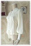 Infanta Gigot Sleeves Chiffon Lolita Blouse