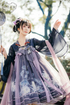 Epiphyllum Jellyfish Qi Lolita Dress Version I -Ready MADE
