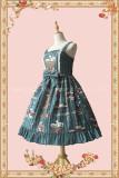 Infanta ~Gardenia in blossom * Graduation Season~ Lolita Jumper -Ready Made