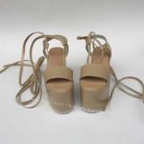 High Platform Glossy Lolita Sandals
