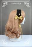 Neverland Lolita ~Golden Swan Lake~ Gold Stamping Thick Lolita JSK