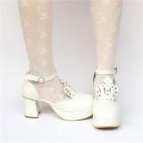 Sweet Mint Lolita Heels Shoes