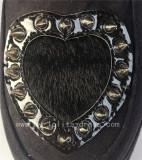 Black Velvet Heart Lolita High Platform