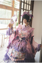 Fantasy Dream In Spring Sakura Embroidery Lolita JSK & Accessories