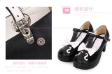 Angelic Imprint- Notes -Sweet  Lolita Heels Shoes