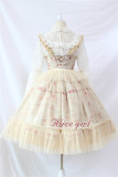 Droplight~ Classic Lolita JSK With Front Open Design -Ready Made