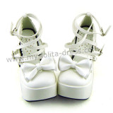 Three Bows Lolita Shoes