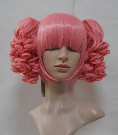 Dark Pink Unicolor Curl Lolita Wig