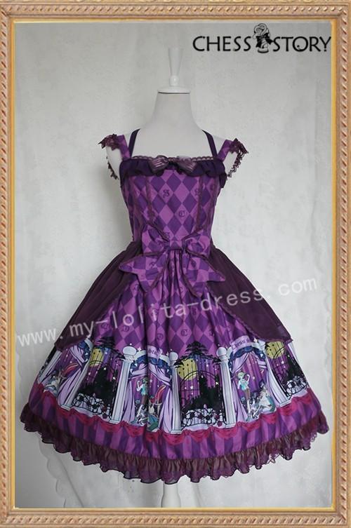Chess Story ~Doll Theater~ Lolita Jumper Dress