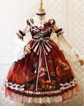 Nine Ode ~Carp Fantasy of Western Island Lolita JSK -Ready Made
