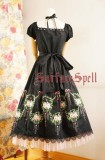 Surface Spell Dancing Roses Embroidery OP Dress