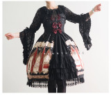 Marian~  Vintage Lolita Hime Sleeves Blouse -Ready Made