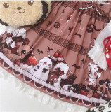Vintage Doll Chocolate Lolita Jumper -out