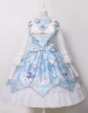 Night of Unicorn ~Vintage Corset Lolita JSK -Ready Made