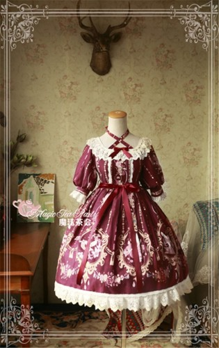 Magic Tea Party ~Flower fairy~ Lolita OP Dress