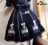 HMHM Classical Velveteen Chandelier Jumper Dress