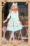 Infanta Love&Canary Printed Cotton Lolita Jumper Dress-OUT