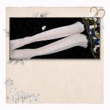 Dream The Witch Diamond Lolita ~Lolita Above Knee High Socks/Stockings