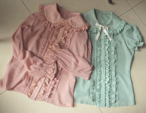 Chiffon Fruits Lolita Shirt HMHM 3 Colors